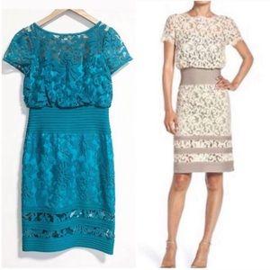 Tadashi Yoshi. Intricate lace dress. Size 4.